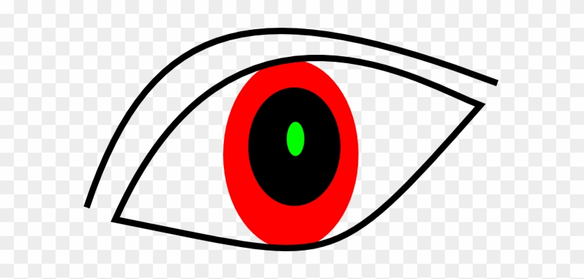 Red Eyeball Clipart - Red Eye Clipart #131214
