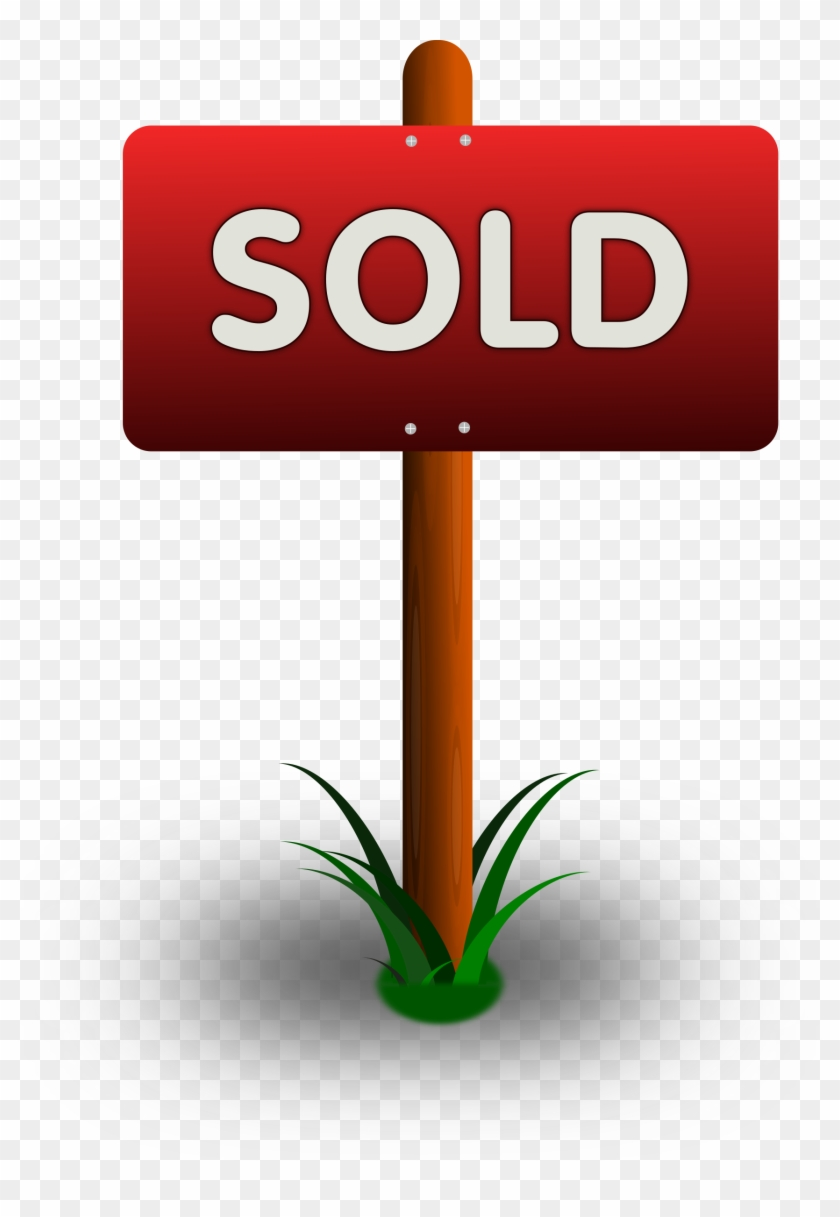 Sold Clipart - Sold Sign Clipart #131273