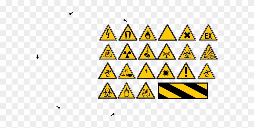 Small Danger Sign #131296