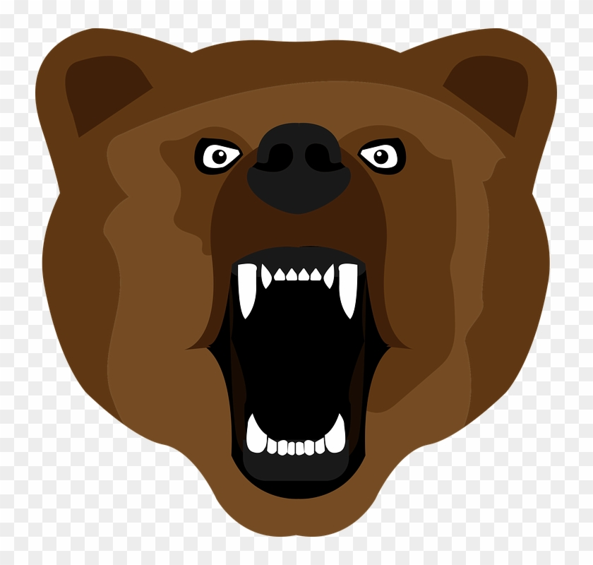 Bear, Brown, Set, Paw, Isolated, Icon - Bear #131314