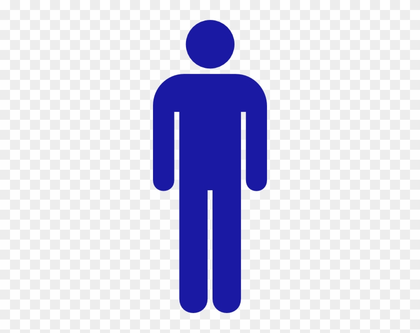 Boy Bathroom Signs Free Cliparts That You Can Download - Blue Boys Bathroom Sign #131351