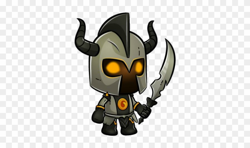 Darkness Knight Medieval Character Art - Game #131388