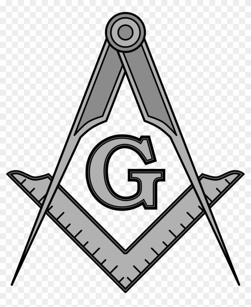 File - Masonic Squarecompassesg - Svg - Mason Square And Compass #131402