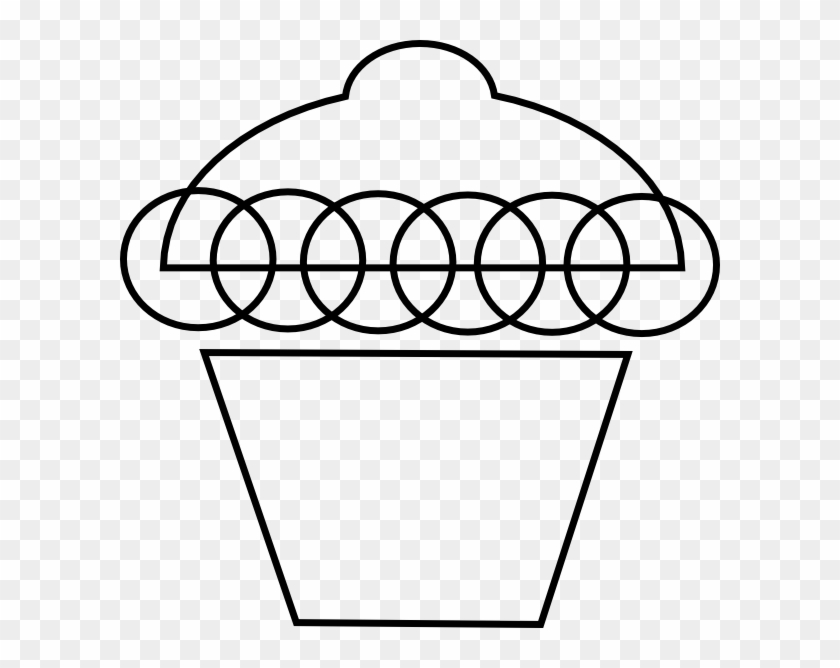 Cupcake Clipart Black And White - Police #131472