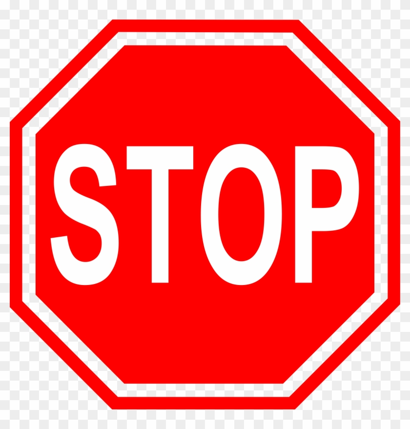 Microsoft Office Clipart Stop Sign - Stop Sign Clip Art Png #131557