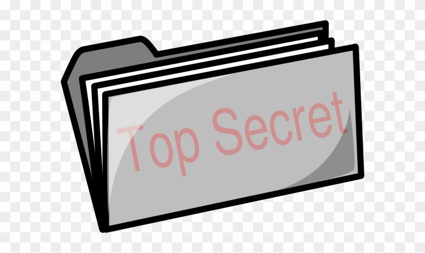 Top Secret Clip Art - Cartoon Filing Cabinet #131590