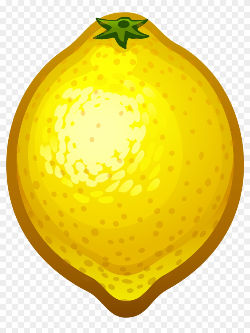Clip Arts Related To - Lemon Clipart Transparent Background #131655