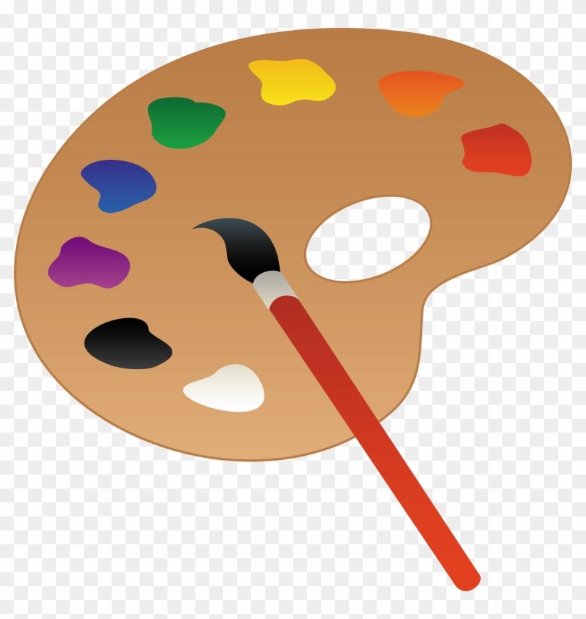Clipart Info - Paint Palette #131751