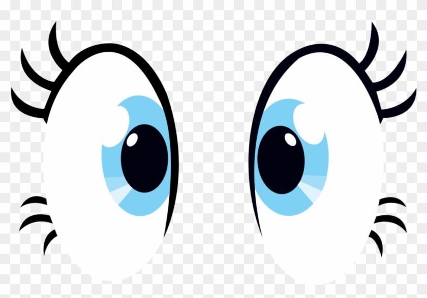 Thesupernamekian, Eyes, Pinkie Pie, Safe, Simple Background, - My Little Pony Pinky Pie Eyes #131822