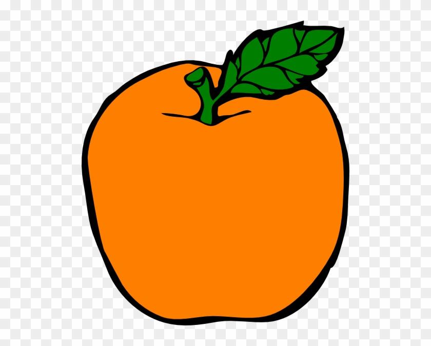 Apples And Oranges Clipart Orange Apple Clip Art At - Apple And Orange Clip Art #131836