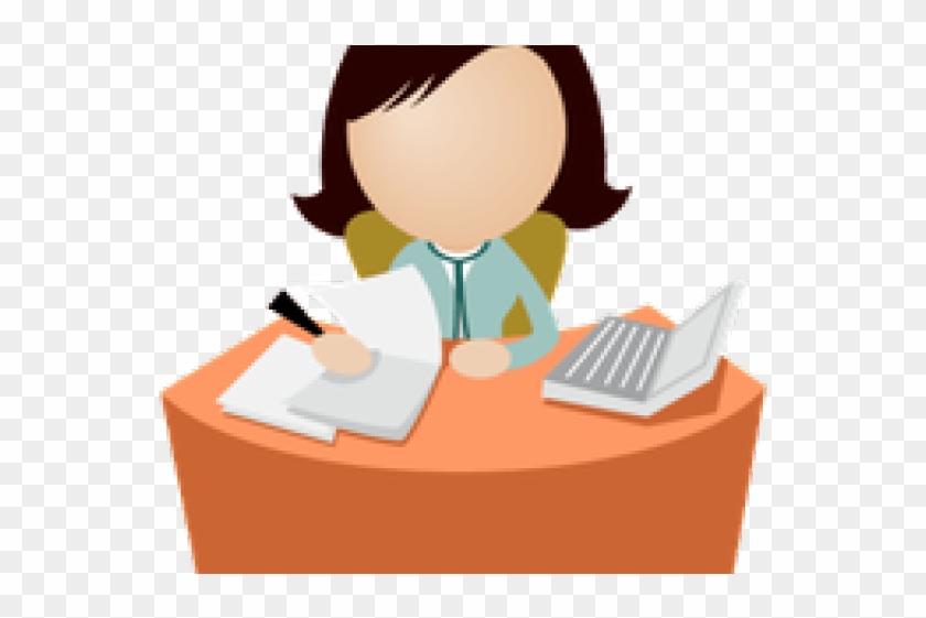 Office Management Png Transparent Images - Office Ladies Cartoon #131903