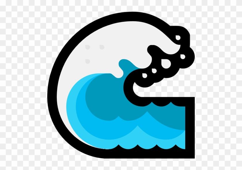 N/a - Water Wave Emoji #131948