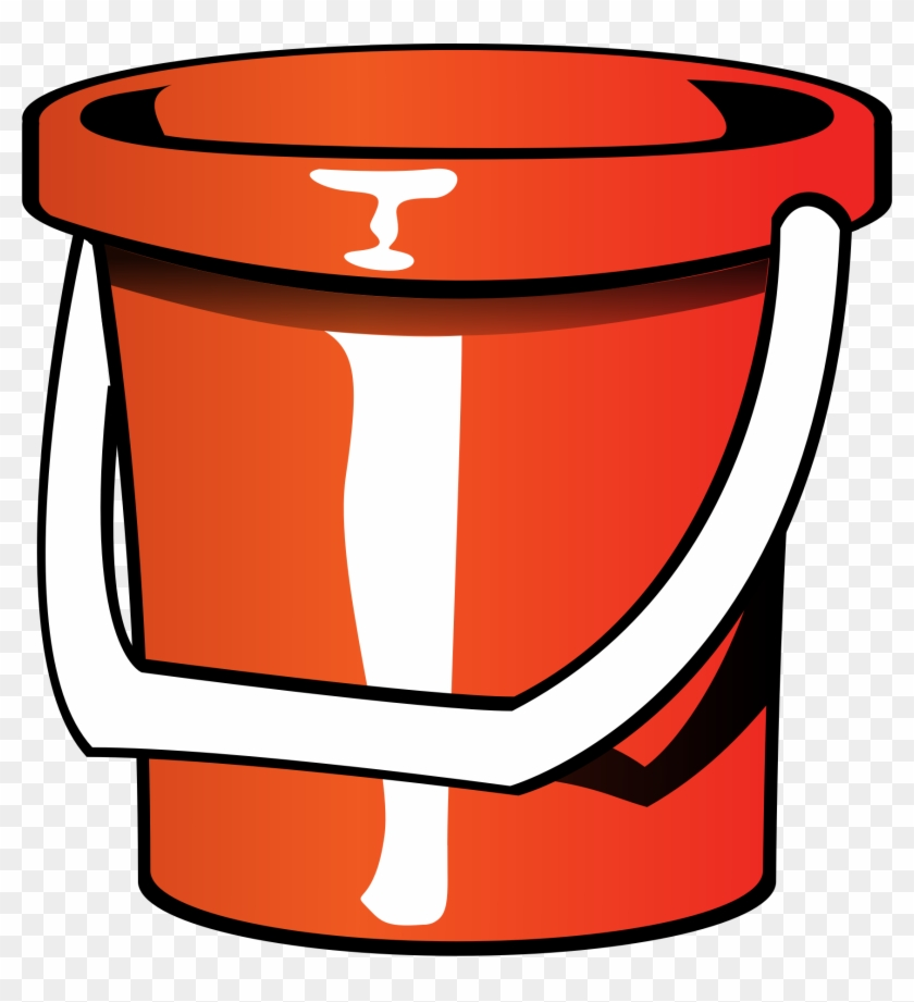 Big Image - Bucket Clip Art #131993