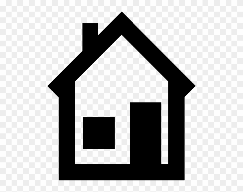 Clipart House - House B&w Png #132147