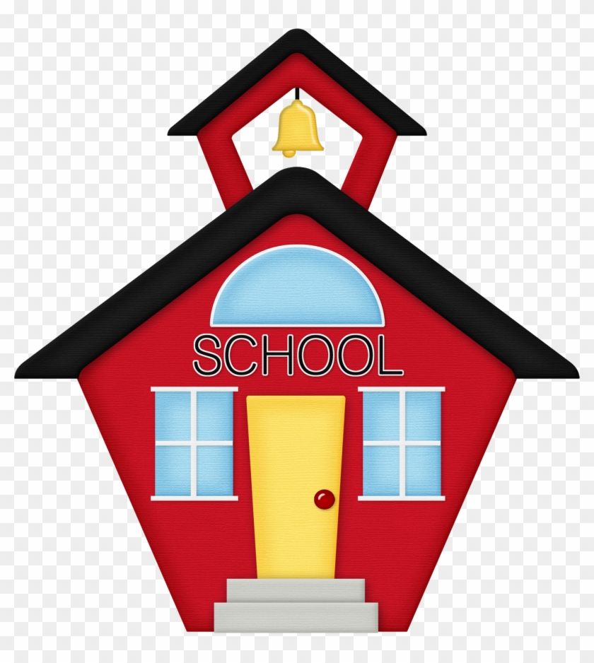 School House Schoolhouse Silhouette Clipart Wikiclipart - School House Vector #132162