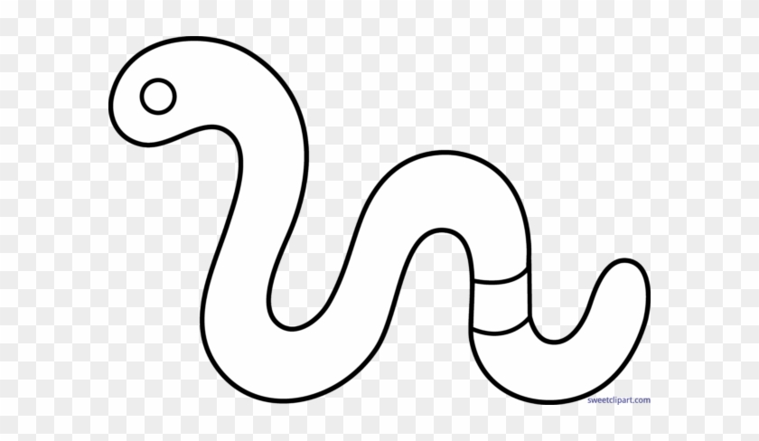 All Clip Art Archives - Black And White Worm Clip Art #132233