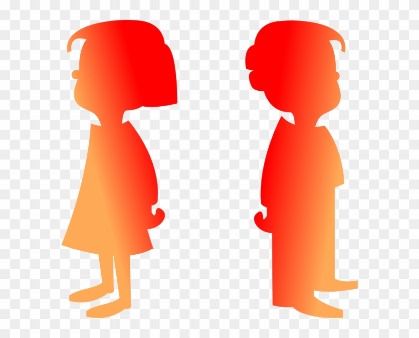 Figures Boy And Girl 2 Clip Art - Png Boy And Girls #132326