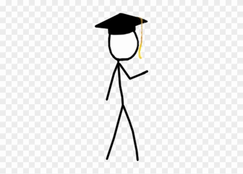 Horizon Net Wins The Wiki Ninja Stick Figures - Stick Person Graduation #132354