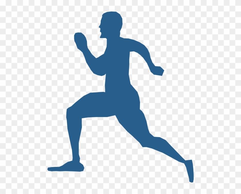 Running Man Clip Art - Running Man Vector Png #132392