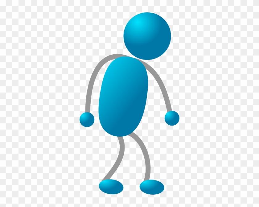 Sad Gray Arm Stick Man Clip Art - People Cartoon Sad Png #132418