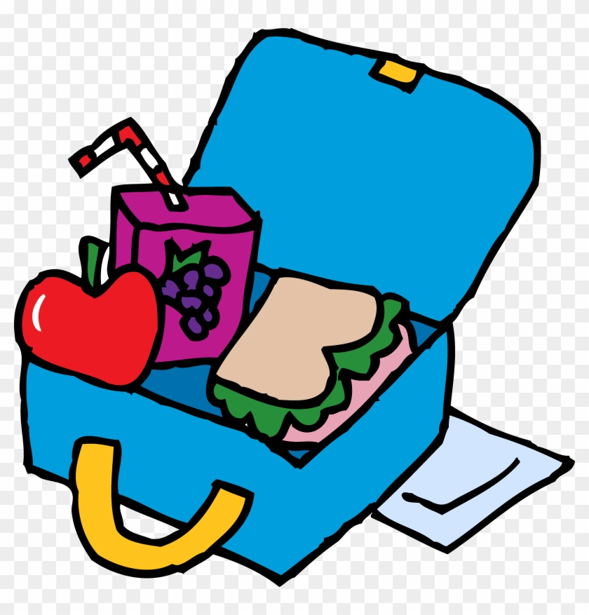 Clipart Of Lunch Clip Art Many Interesting Cliparts - Coloring A Lunch Box #132428