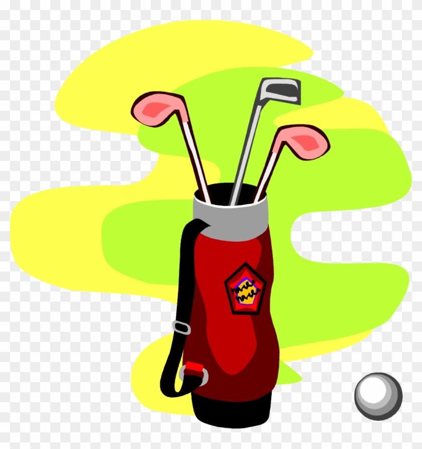 Png - - Golf Bag Clip Art #132433
