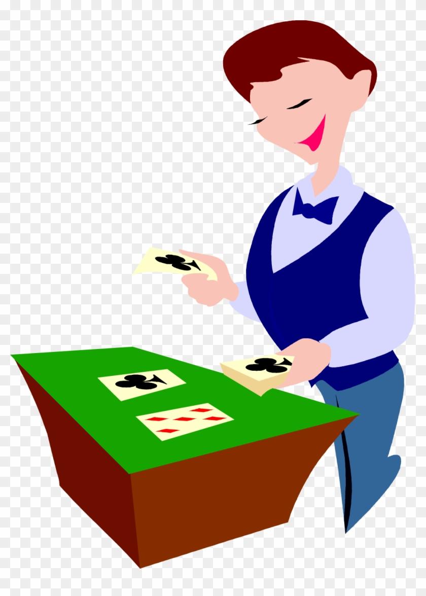 Png - - Poker Dealer Clipart #132440