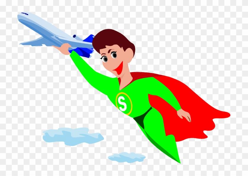 Png - - Lift Superhero Clipart #132444