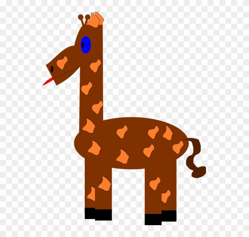 You Can Download By Various Options Like Giraffe Clipart - Giraffe Clip Art #132459