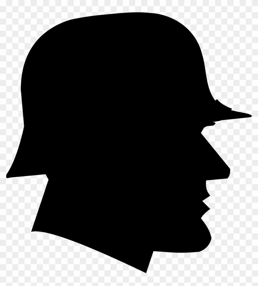 Word War Vi Tesla Tower Clipart, Vector Clip Art Online, - German Soldier Silhouette #132563