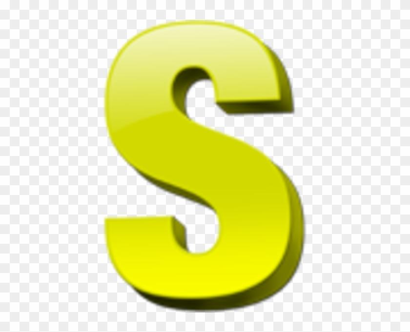 Letter S Icon 1 Image - Letter S Clipart #132596