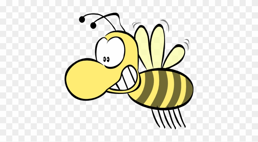 Spelling Bee Clip Art - Honey Bees Cartoon Pictures Gif #132609