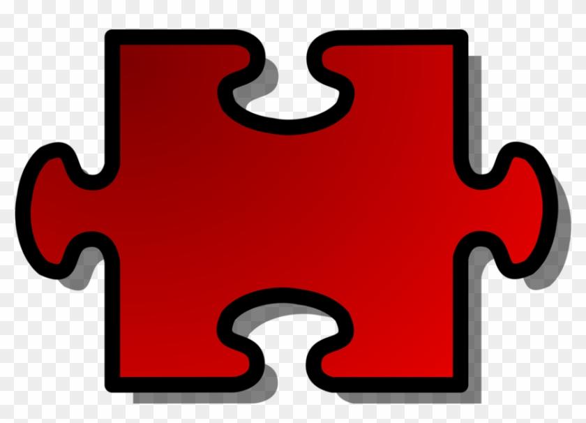 Free Puzzle Piece Clip Art - Puzzle Pieces Clip Art #132654