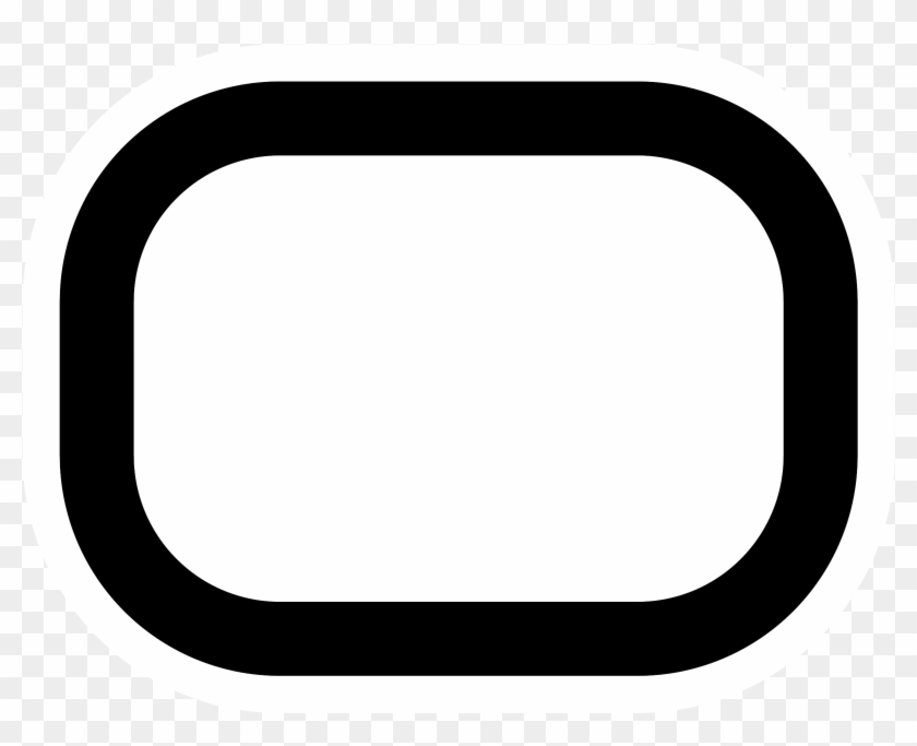 Rounded Rectangle Clip Art - Rounded Rectangle Clip Art #132737