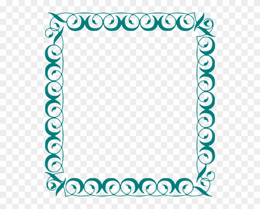 Decorative Page Borders In Word - Tooth Border Clip Art #132981