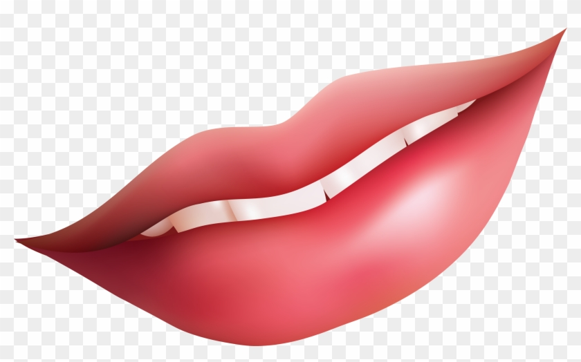 Lips Open Mouth Clipart Image - Lip Clipart Png #133014