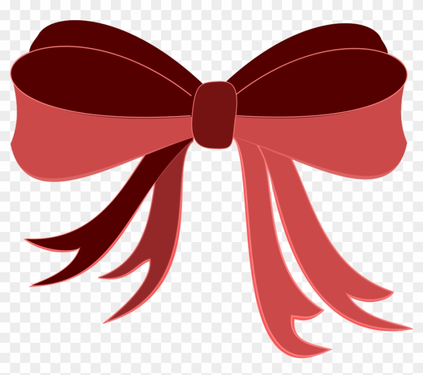 Red Ribbon Png Images - Bow Clip Art #133025