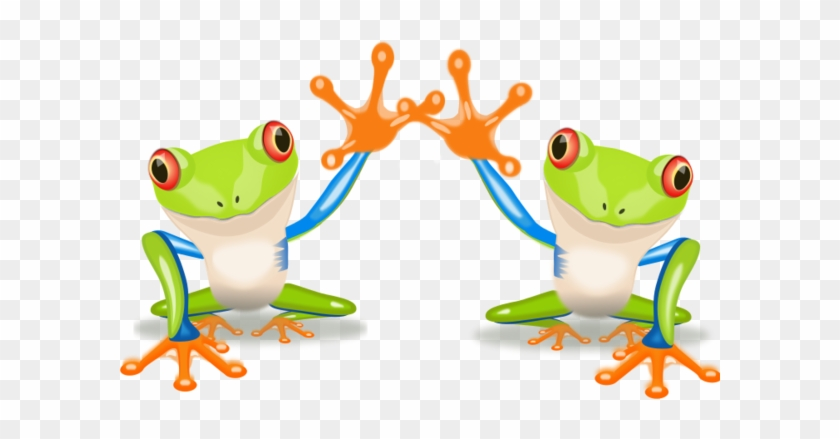 Related Pictures High Five Hand Clipart Car Pictures - Clipart Two Frogs #133047
