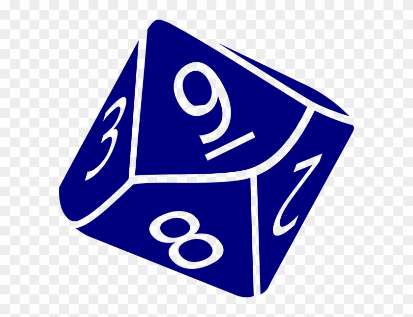 Dice Side Clipart Kid - 10 Sided Dice Clipart #133053