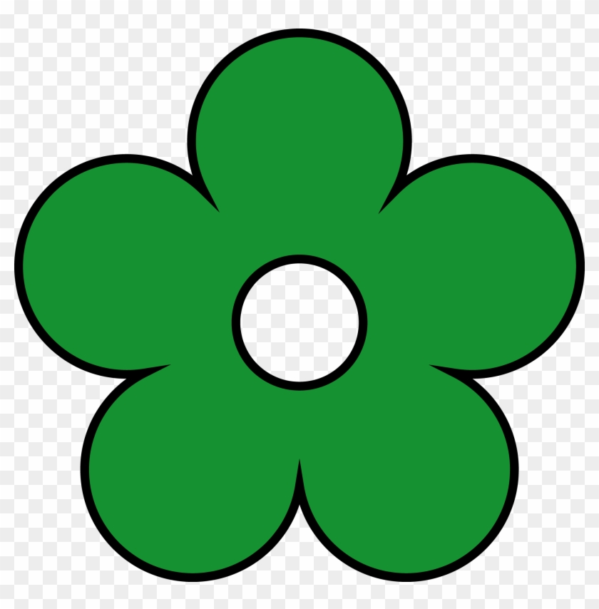 Green Flower Png Clipart - Scooby-doo #133074