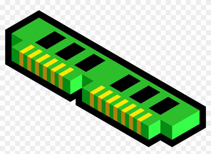 Memory Ddr Magnus Erik L Clipart Icon Png - Computer Memory Clip Art #133082