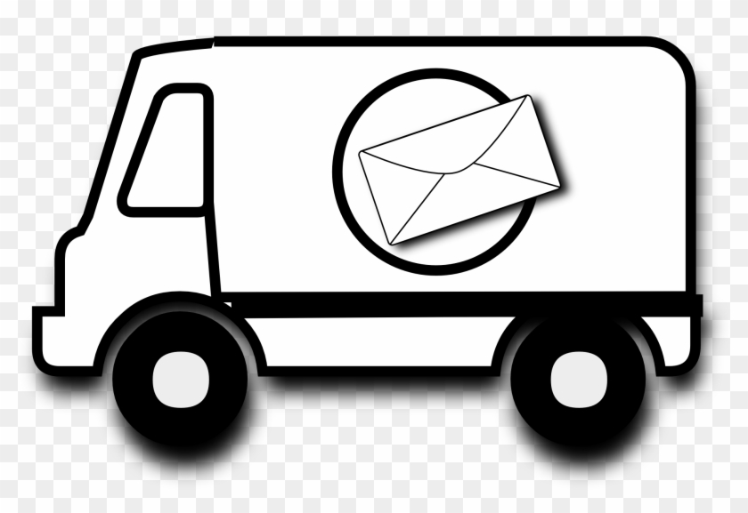 Delivery Van Clipart Png - Mail Truck Clipart #133093