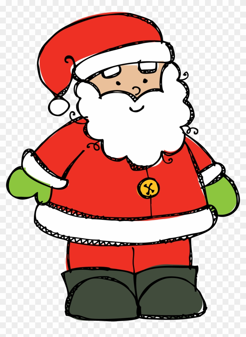 18 Santa Png Free Cliparts - Christmas Color By Sight Word - Free ...