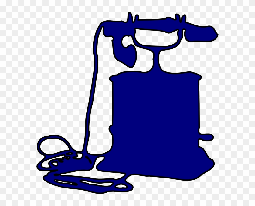 Telephone Outline Clip Art At Clker - Telephone #133324
