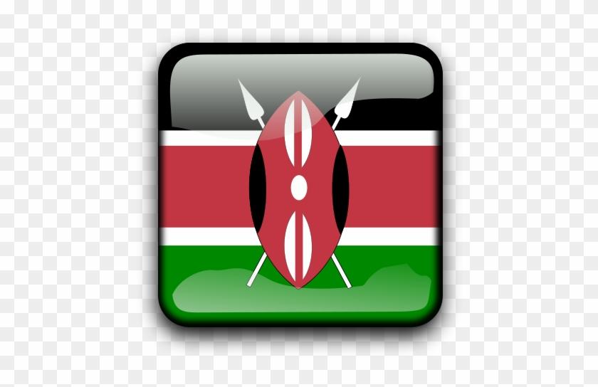 Flag Of Kenya Clipart, Vector Clip Art Online, Royalty - Kenya Flag #133341