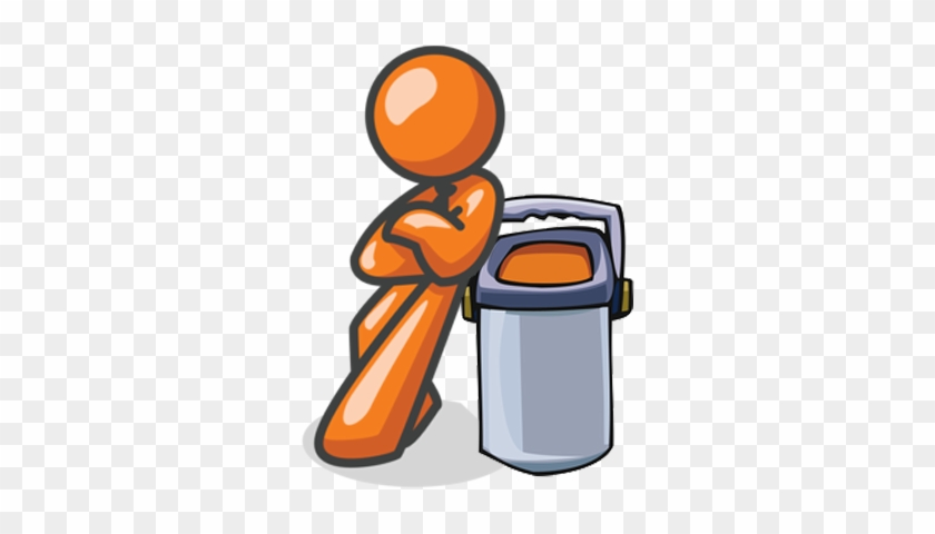 Forget When To Take Out The Yard Debris Recycling 0bdjjs - Stickman Leaning Against Wall #133480