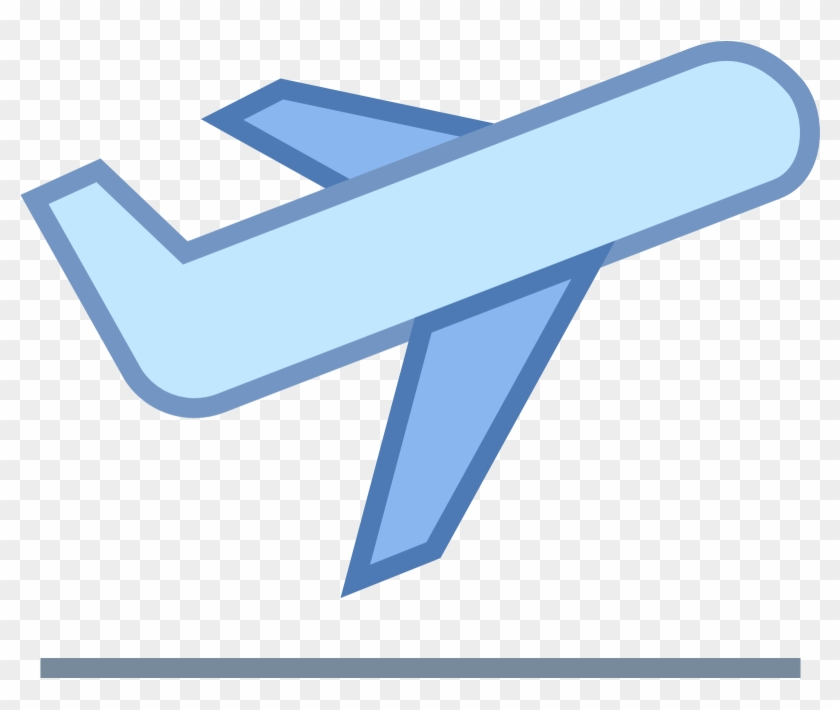 Airplane Take Off Icon - Plane Icon Png Colour #133481