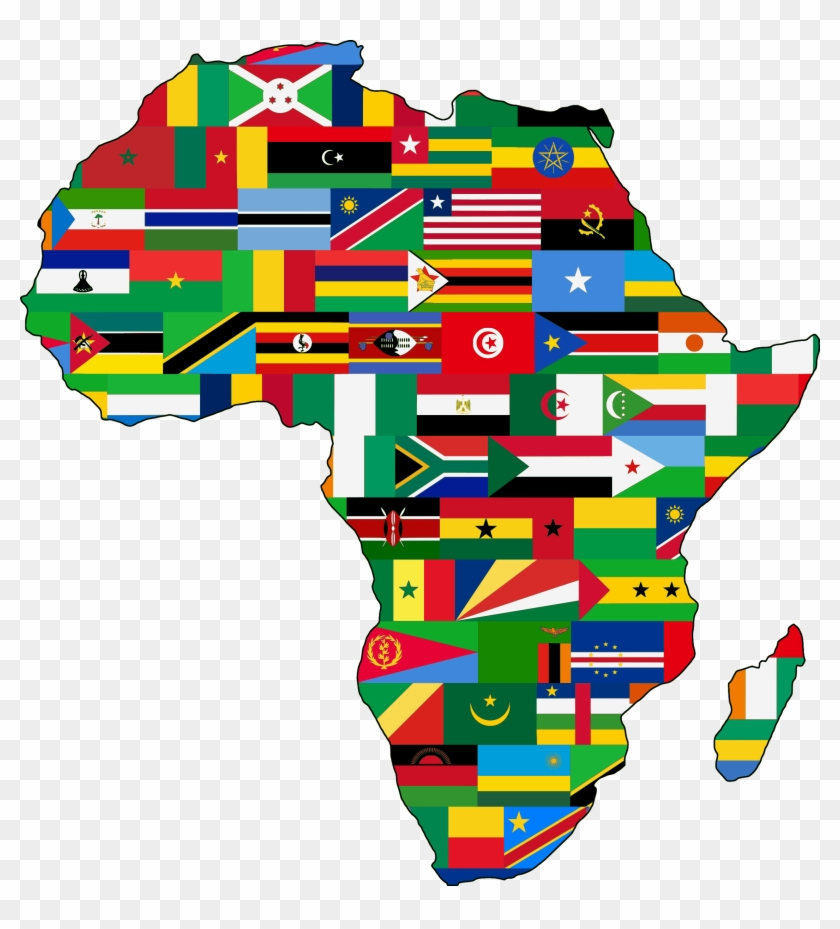Africa - Beautiful Map Of Africa #133603