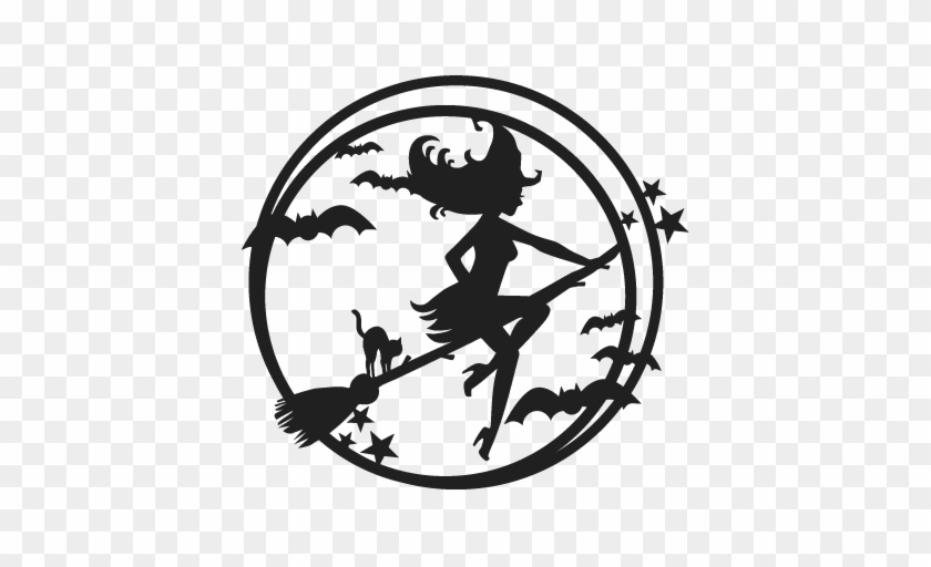Halloween Witch Svg Scrapbook Cut File Cute Clipart - Witch Svg Free #133696