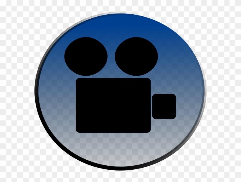 Video Clip Art At Clker - Video Camera Clip Art #133704